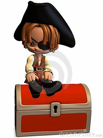 Little Pirate - Toon Figure