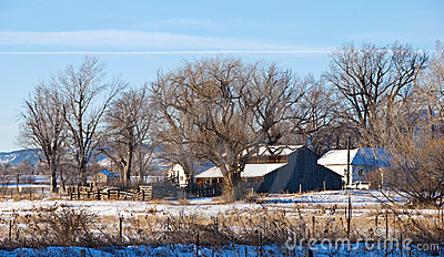 Little Prairie Farm in Winter