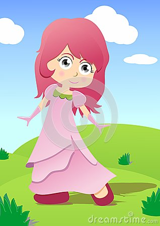 Free Little Princess Royalty Free Stock Photography - 24916407