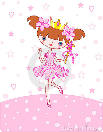 Free Little Princess Royalty Free Stock Photography - 8365137