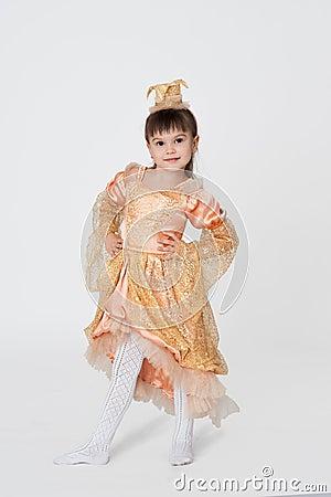 Little princess carnival costume