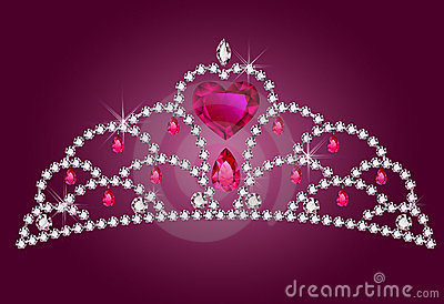Little princess diadem