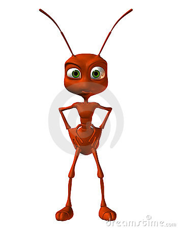 Free Little Red Ant Royalty Free Stock Image - 20847546