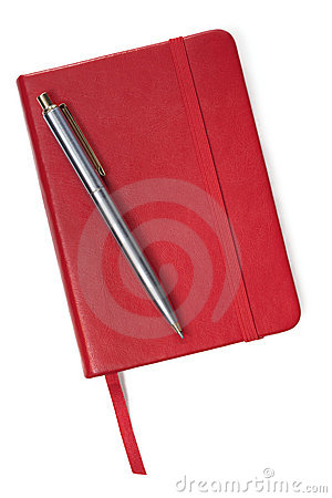 Little Red Book and Pen