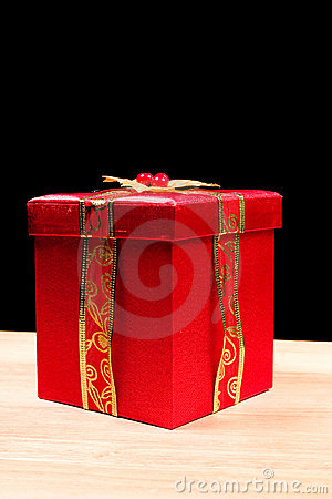 Little Red Gift Box