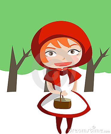 Free Little Red Riding Hood Royalty Free Stock Image - 5725306