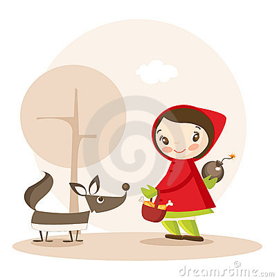 Little Red Riding Hood funny cartoon