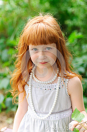 Little redheaded girl