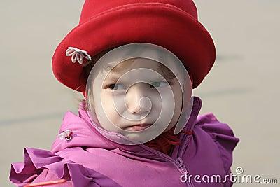 Little resentment girl