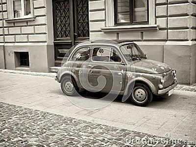 Little retro car
