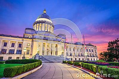 Arkansas State Capitol Stock Photo