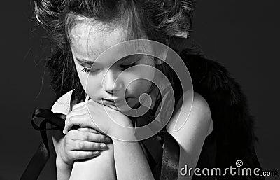 Little sad angel