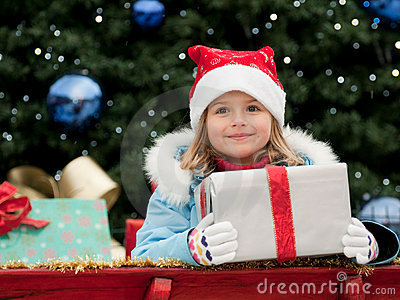 Little Santa Claus helper