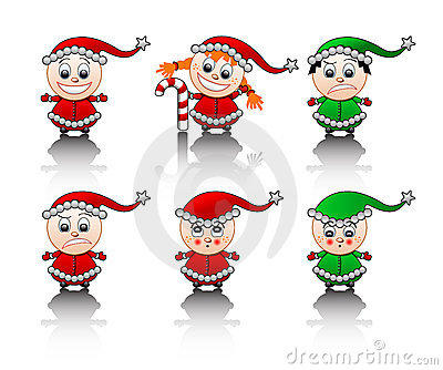 Little Santa s helpers smile set
