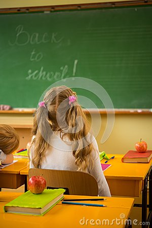 Little schoolgirl