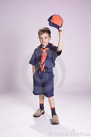 Free Little Scout Stock Images - 296844