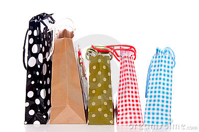 Little shopping bags