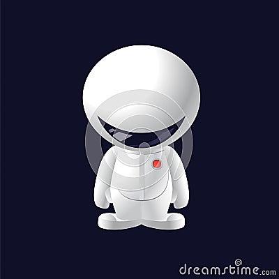 Little smile astronaut