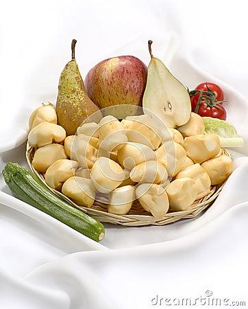 Free Little Smoked Scamorzas - Italian Cow Milk Cheese Stock Image - 3688751
