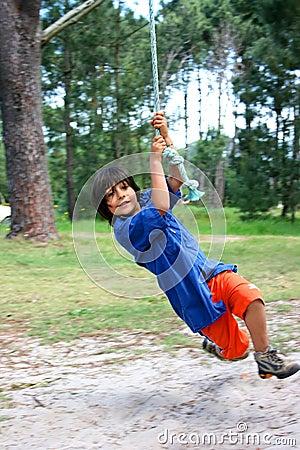 Free Little Tarzan Stock Photo - 3545050
