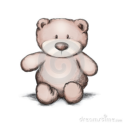 Little teddy bear Stock Photo