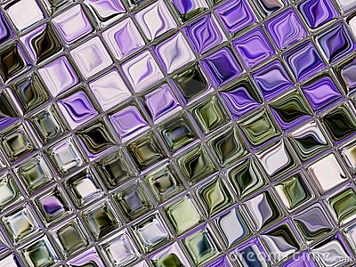 Little tiles of glass 2