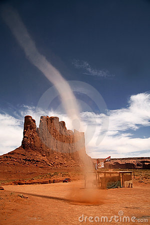 Free Little Tornado In Monument Valley Stock Photos - 6897213
