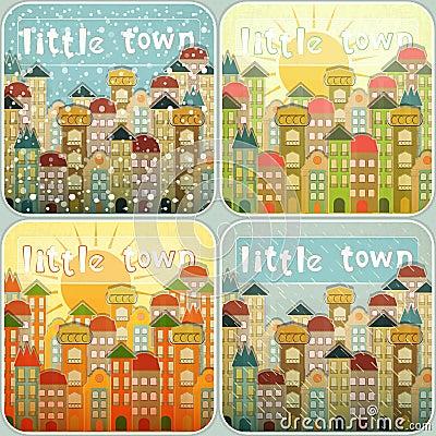 Little Town Seasons Set