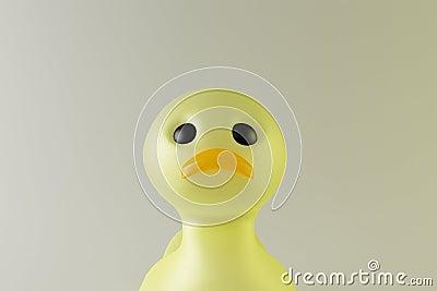Little toy duck
