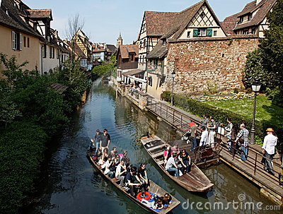 Little Venice-Colmar Editorial Stock Image