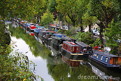 Little Venice in London Editorial Photo