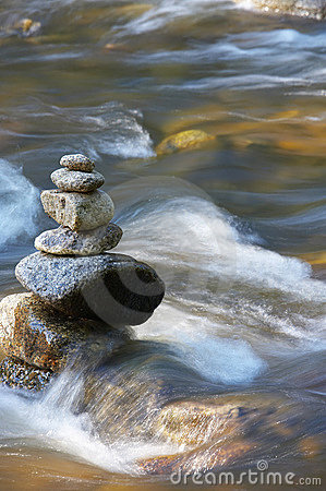 Free Little Watercourses With Rocks Stock Photos - 2863623