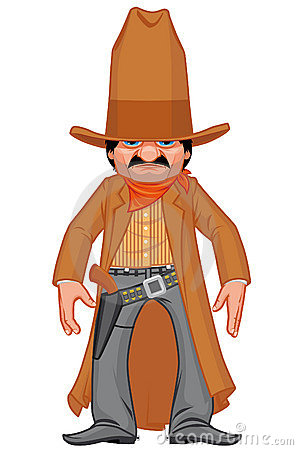 Little western gunman
