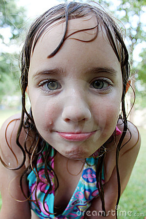 Little Wet Girl