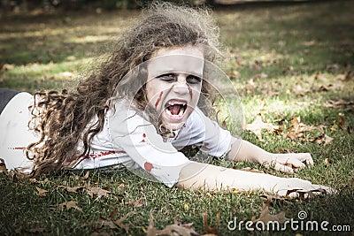 Little Zombie Girl