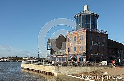 Littlehampton Harbour, Visitor Centre Editorial Photo