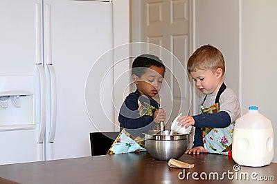 Litttle Chefs in the Kitchen