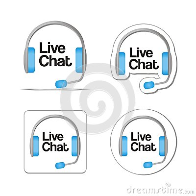 Free Live Chat Stock Images - 32574134
