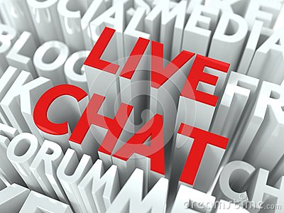 Live Chat Concept.
