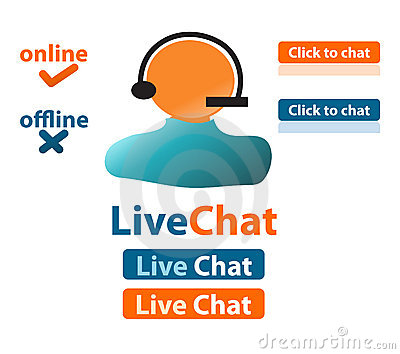 Live chat customer support
