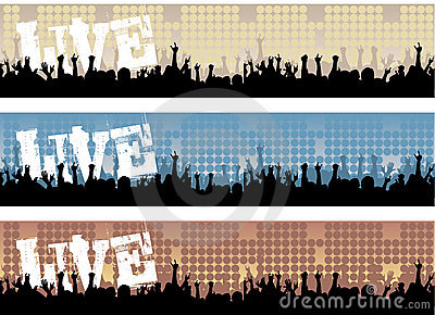 Live Concert Banners