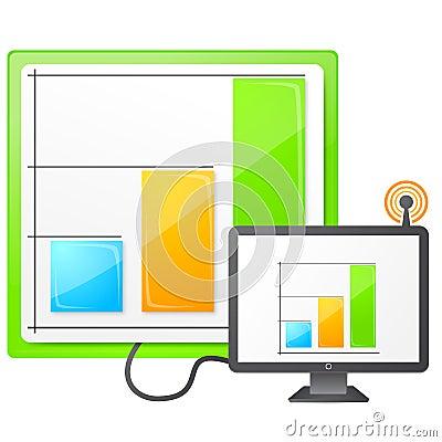Live data icon