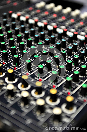 Free Live Sound Mixer Royalty Free Stock Images - 46233249