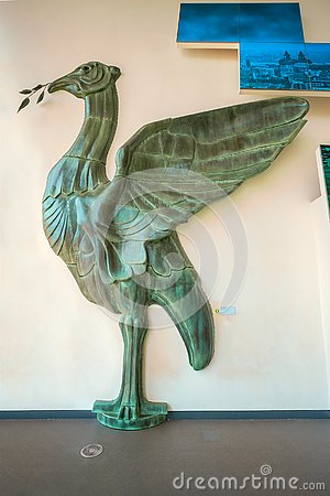 Free Liver Bird, The Most Important Symbol Of Liverpool Displayed In Royalty Free Stock Image - 129239976
