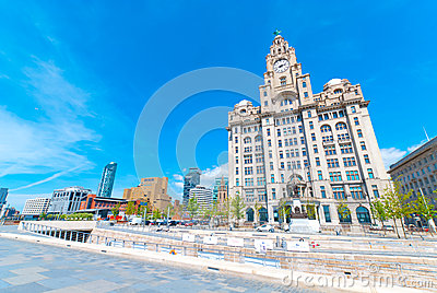Liver Building Editorial Photography
