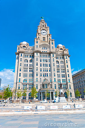 Liver Building Editorial Stock Photo