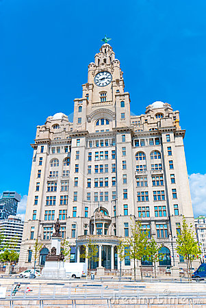 Liver Building Editorial Image