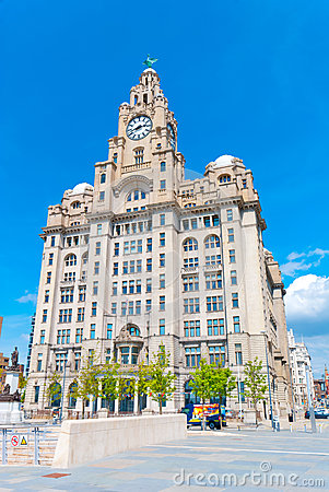 Liver Building Editorial Photo