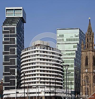 Liverpool - Architecture - United Kingdom Editorial Image