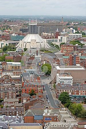 Liverpool City Centre Aerial